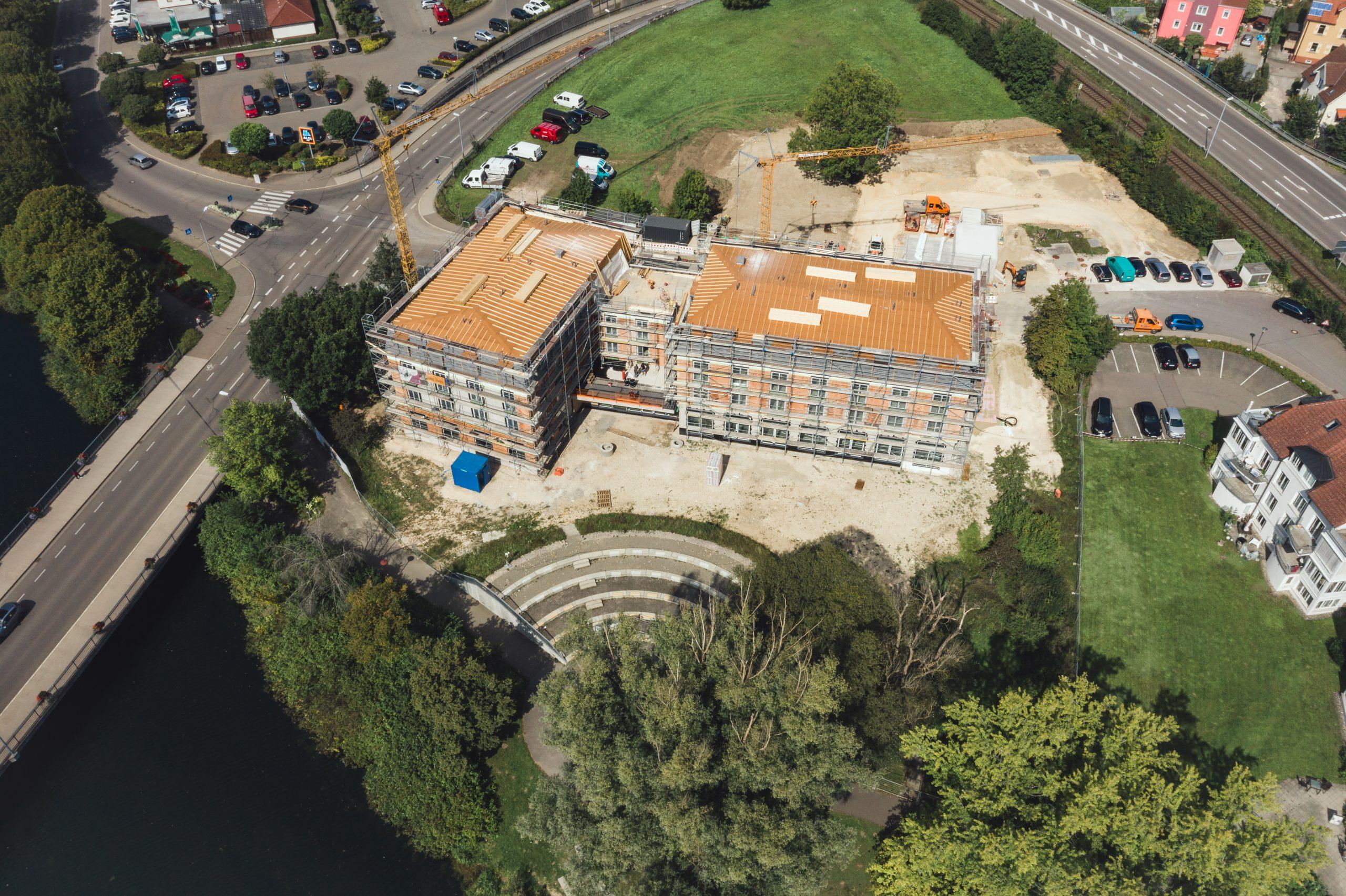 Hier sehen sie den Neubau vom Hotel am Schloss